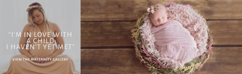 Rachel Falzon Photography, Mobile banner, Newborn Photography Sydney