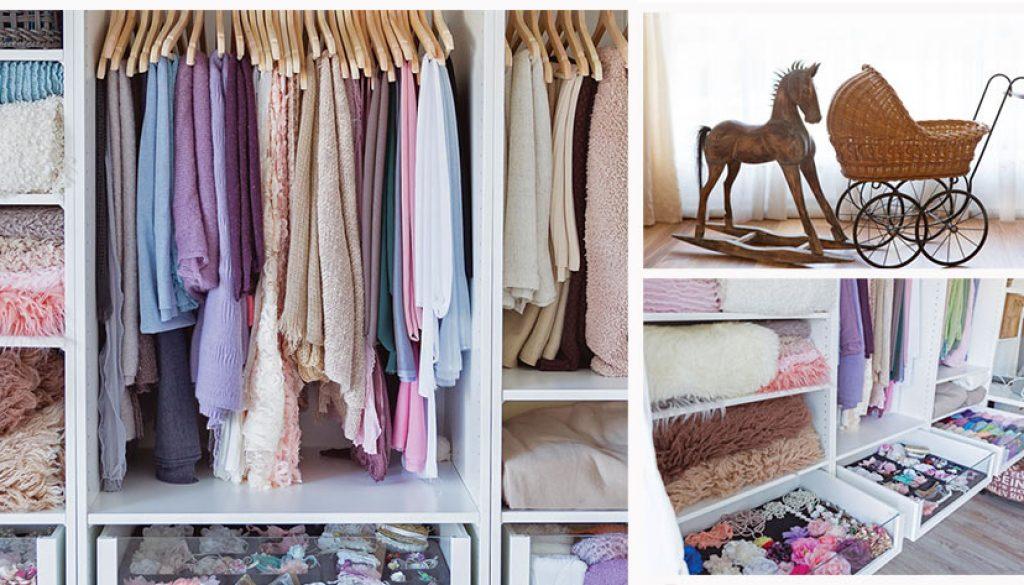 Images of inside Rachel Falzon Photography's studio