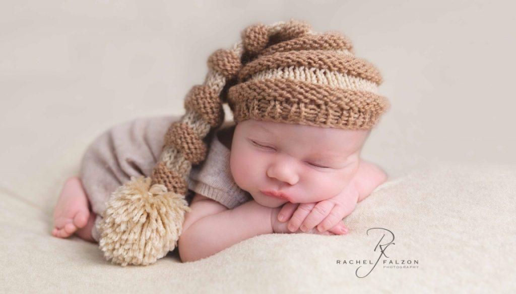Sleeping newborn baby photography penrith