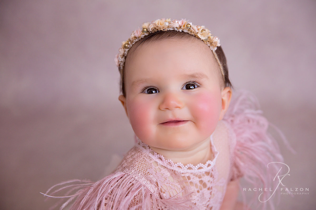 Rosy cheeks baby photo western sydney