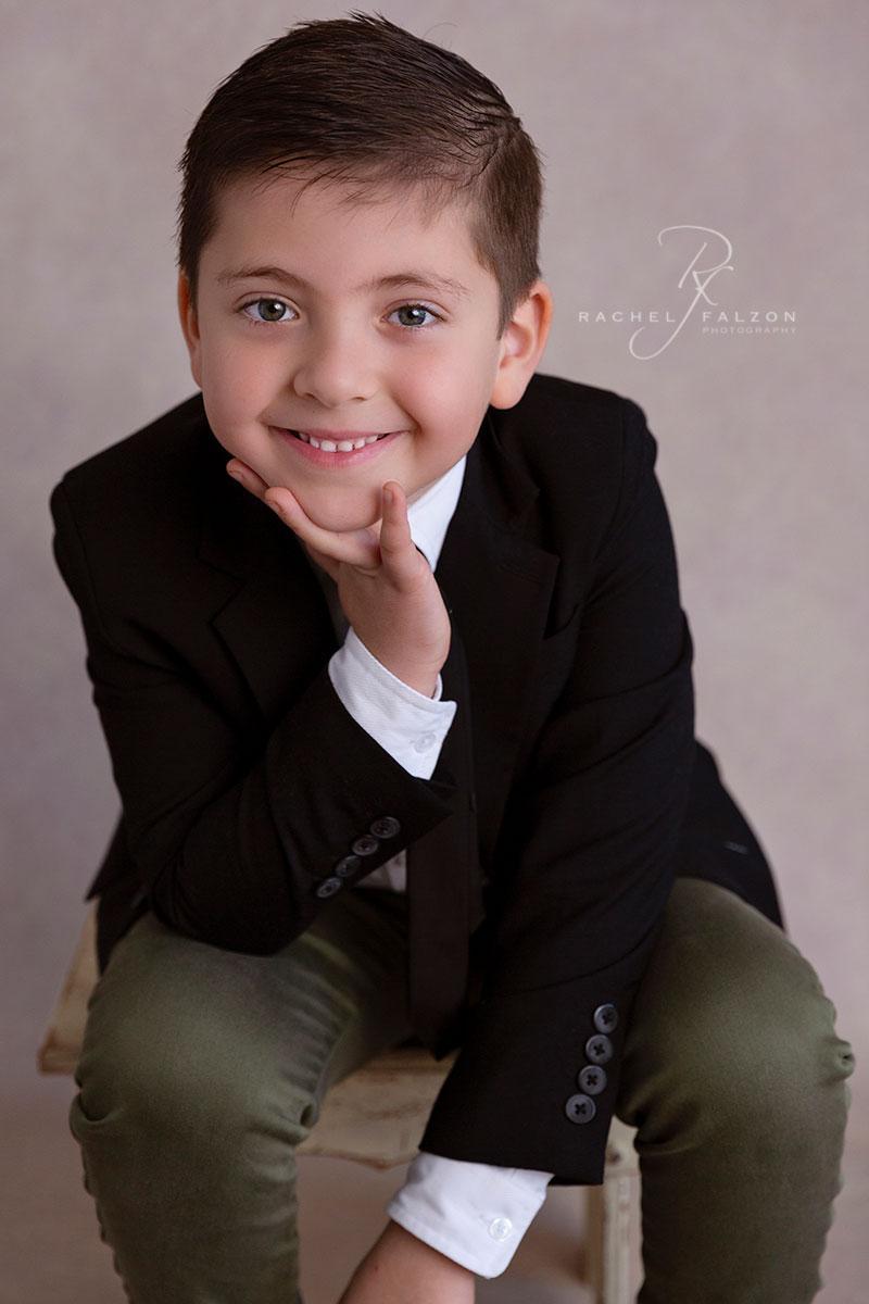 Young boy portrait western sydney