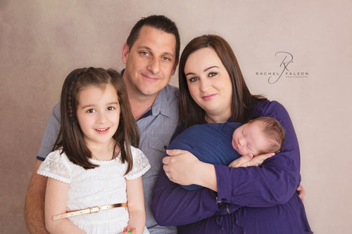 The Sheldon Family newborn shoot