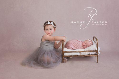 Sisters newborn